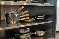 キッチンツールも豊富です。(2013-10-30,共用部,KITCHEN,6F)