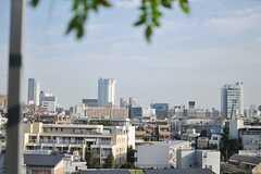 六本木ヒルズが見えます。(2013-10-30,共用部,OTHER,6F)