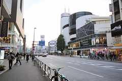 シェアハウスから各線・表参道駅へ向かう道の様子。(2013-10-30,共用部,ENVIRONMENT,1F)