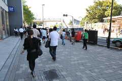 JR山手線・原宿駅前の様子。(2011-09-22,共用部,ENVIRONMENT,1F)