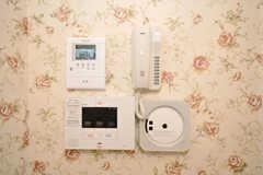 ホームセキュリティシステムも設置。(2009-12-08,共用部,OTHER,4F)