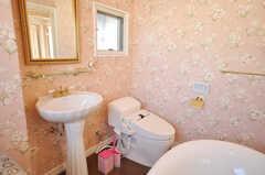 洗面台の様子。(2009-12-08,共用部,TOILET,4F)