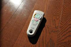 室内灯はリモコン式。(2009-12-08,共用部,OTHER,4F)