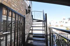 屋上への階段。(2009-12-08,共用部,OTHER,4F)