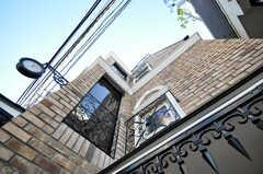 外壁はレンガです。(2009-12-08,共用部,OTHER,1F)