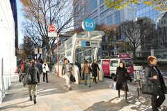 各線表参道駅の様子。(2009-12-08,共用部,ENVIRONMENT,1F)