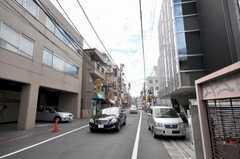 各線渋谷駅からシェアハウスへ向かう道の様子。(2009-07-17,共用部,ENVIRONMENT,1F)