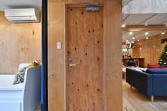 専有部のドア。(201号室)(2019-12-19,専有部,ROOM,2F)
