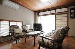 シェアハウスのリビングの様子3。(2011-09-27,共用部,LIVINGROOM,2F)