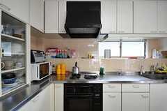 キッチンの様子。(2011-09-27,共用部,KITCHEN,2F)