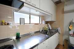 キッチンの作業スペース。(2011-09-27,共用部,KITCHEN,2F)