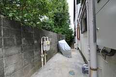 自転車置場の様子。(2011-09-27,共用部,GARAGE,1F)