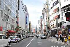 各線・渋谷駅前の様子。(2011-09-27,共用部,ENVIRONMENT,1F)