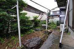 庭は102、103号室の共用です。(102号室)(2013-05-30,共用部,OTHER,1F)