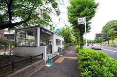 東京メトロ千代田線・代々木公園駅の様子。(2013-05-30,共用部,ENVIRONMENT,1F)