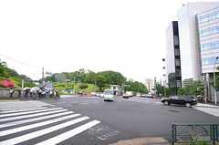 シェアハウスに向かう途中の交差点。(2013-05-30,共用部,ENVIRONMENT,1F)