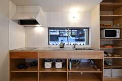 キッチンの様子2。(2021-03-05,共用部,KITCHEN,2F)