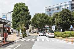 各線・西大井駅周辺の様子2。(2017-08-30,共用部,ENVIRONMENT,1F)