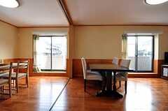 シェアハウスのリビングの様子。(2011-03-08,共用部,LIVINGROOM,1F)
