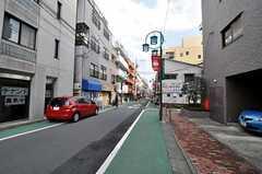 東急大井町線・旗の台駅からシェアハウスへ向かう道の様子。(2011-03-08,共用部,ENVIRONMENT,1F)