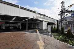 東急大井町線・旗の台駅の様子。(2011-03-08,共用部,ENVIRONMENT,1F)