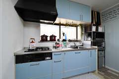 キッチンの様子。(2021-03-24,共用部,KITCHEN,1F)
