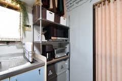 キッチンの様子2。(2021-03-24,共用部,KITCHEN,1F)