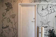 専有部のドア。(101号室)(2021-03-24,専有部,ROOM,1F)