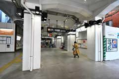 東急大井町線・中延駅の様子。(2021-03-24,共用部,ENVIRONMENT,1F)