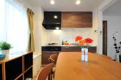 キッチンの様子。(2012-10-23,共用部,KITCHEN,3F)