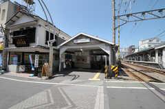 各線・戸越銀座駅の様子。(1999-10-23,共用部,ENVIRONMENT,1F)