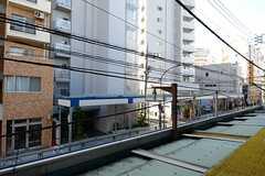 窓からの景色はこんな感じ。(207号室)(2012-12-07,専有部,ROOM,2F)