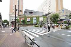 大井町駅前の様子。(2015-08-20,共用部,ENVIRONMENT,1F)