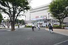 JR・大井町駅の様子。(2015-08-20,共用部,ENVIRONMENT,1F)