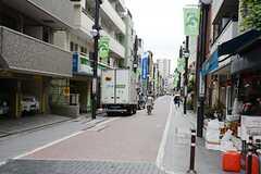 京急本線・北品川駅からシェアハウスへ向かう道の様子。(2014-08-09,共用部,ENVIRONMENT,1F)