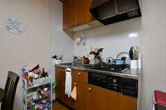 キッチンの様子。(2020-09-03,共用部,KITCHEN,2F)