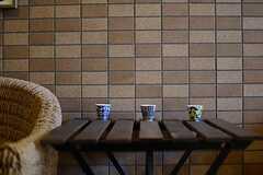 小さなカップたち。(2012-11-27,共用部,LIVINGROOM,1F)