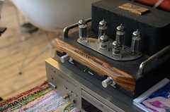 古い音響設備も味があります。(2012-11-27,共用部,OTHER,1F)