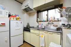 キッチンの様子。(2012-11-27,専有部,ROOM,1F)