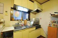 キッチンの様子。(2012-11-27,専有部,ROOM,3F)