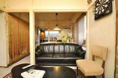 シェアハウスのラウンジの様子6。(2009-01-13,共用部,LIVINGROOM,1F)