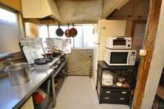シェアハウスのキッチンの様子。(2009-01-13,共用部,KITCHEN,1F)