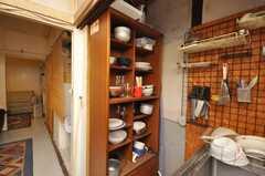 食器棚の様子。(2009-01-13,共用部,OTHER,1F)