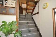 階段の様子。(2009-01-13,共用部,OTHER,1F)