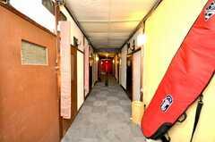 廊下の様子。(2009-01-13,共用部,OTHER,2F)