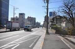各線大井町駅からシェアハウスへ向かう道の様子。(2009-01-13,共用部,ENVIRONMENT,1F)
