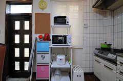 キッチン家電の様子。(2013-04-15,共用部,KITCHEN,1F)