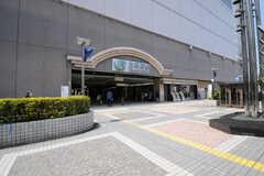 各線・大井町駅の様子。(2013-04-15,共用部,ENVIRONMENT,1F)