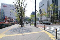 各線・大井町駅前の様子。(2013-04-15,共用部,ENVIRONMENT,1F)
