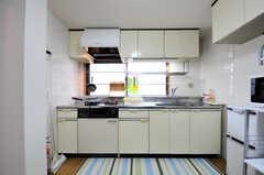 キッチンの様子。(2012-05-28,共用部,KITCHEN,2F)
